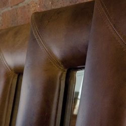 Click here to use our Free made to measure Leather Frame Design Tool